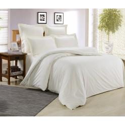 Комплект постельного белья сатин белый
