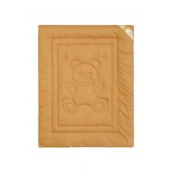 Одеяло детское из верблюжьей шерсти ткань сатин