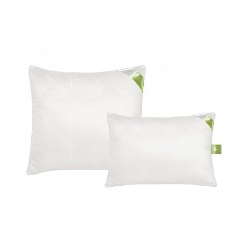 Подушка из премиум бамбука, ткань сатин-жаккард