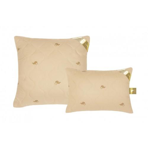 Подушка из шерсти верблюжьей ткань тик