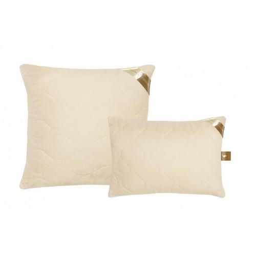 Подушка из кашемира и лебяжьего пуха ткань сатин-жаккард