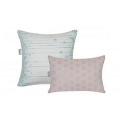 Подушка из лебяжьего пуха ткань microfine