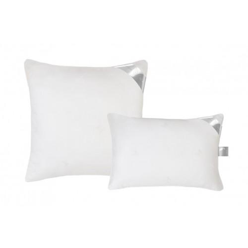 Подушка из шелка и лебяжьего пуха ткань батист