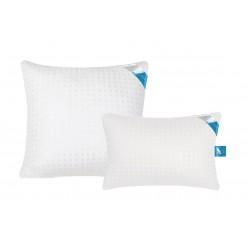 Подушка из лебяжьего пуха ткань тик