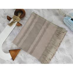 DERIN Vison (коричневый) полотенце пляжное