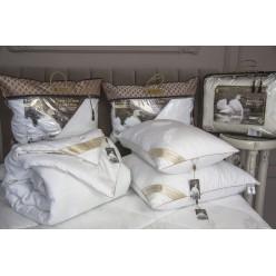 Под.Luxury Antistress Collection Swans Down (белый) 70х70