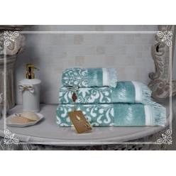 Комплект полотенец Undina (мави) 30х50см(3)