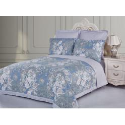Евро постельное белье из сатина Монсури с одеялом