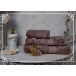 К-т полотенец Irada (темный шоколад) 30х50см(3)