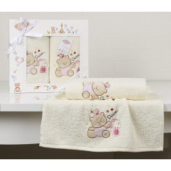 Комплект полотенец детский BAMBINO-BEAR 2 шт.
