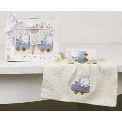 Салфетки c вышивкой детские BAMBINO 30х50 - 2 шт.