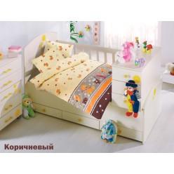 Детское постельное белье для новорожденных VAK VAK с утятами