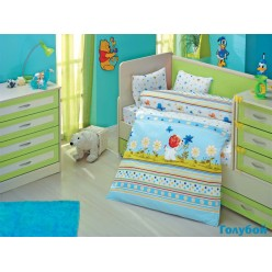 Детское постельное белье для новорожденных GULUCUK с щеночком