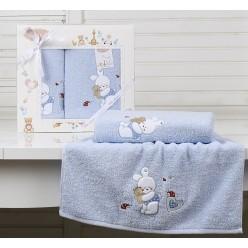 Детский подарочный комплект полотенец  BAMBINO-BUNNY