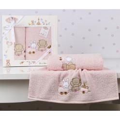 Подарочный комплект полотенец детский BAMBINO-TRAIN