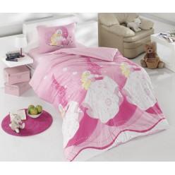 Детское постельное белье ECE креафорс розовый с барби