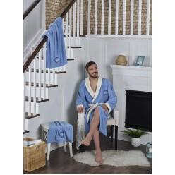 Подарочный набор халат махровый мужской с полотенцами  ADRA 3XL