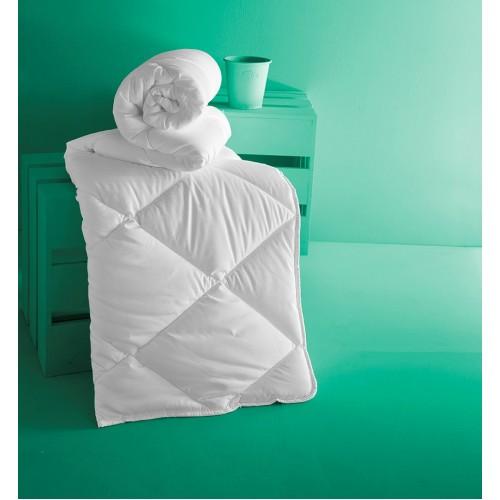 Одеяло мягкое и теплое KARNA ALOEVERA 195x215 белое
