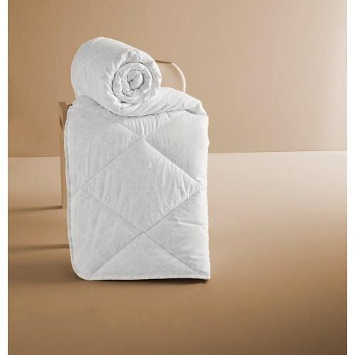 Одеяло мягкое теплое KARNA PERA 155х215 с орнаментом