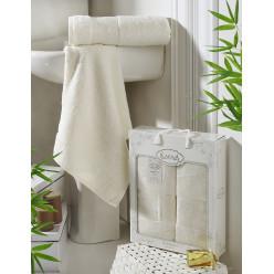 Комплект полотенец из бамбука в подарок PANDORA
