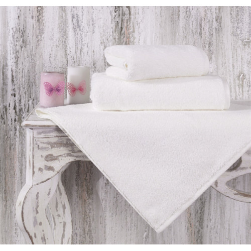 Махровое полотенце из хлопка для лица MORA однотонное