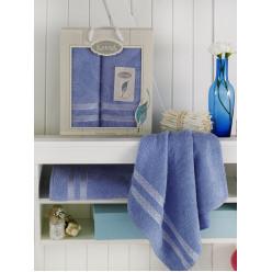 Комплект махровых полотенец PETEK