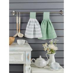 Набор махровых полотенец на кухню из хлопка 2 шт LIMBO 30x30