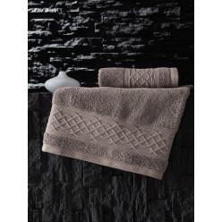 Махровое банное полотенце из хлопка GRAVIT однотонное