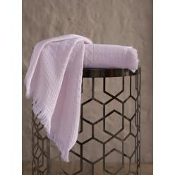 Пушистое бамбуковое банное полотенце MONARD с бахромой