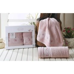 Комплект махровых полотенец BIANCA