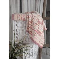 Полотенце махровое MARIPOSA с жаккардовой вышивкой 100х150