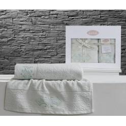 Комплект махровых полотенец GALATA
