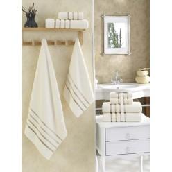 Комплект махровых полотенец BALE белый