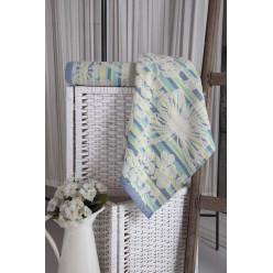 Махровое полотенце из хлопка банное MARIPOSA с цветами