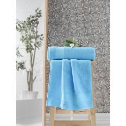 Махровое полотенце из хлопка банное с жаккардом MELTEM