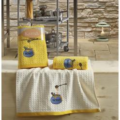 Кухонные полотенца LEMON Желтый 2 шт.