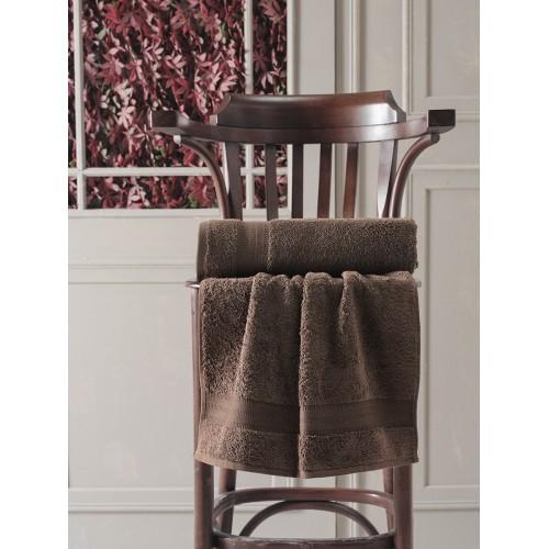 Махровое полотенце из хлопка банное DESTAN с жаккардом