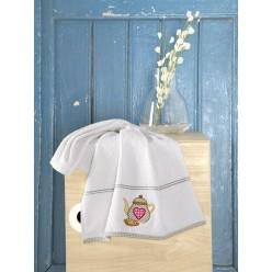 Махровое полотенце из хлопка кухонное BREAKFAST