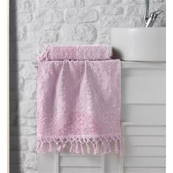 Махровое полотенце из хлопка для лица или кухни с кисточками OTTOMAN