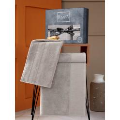 Подарочный комплект махровых полотенец MORANO бежевый