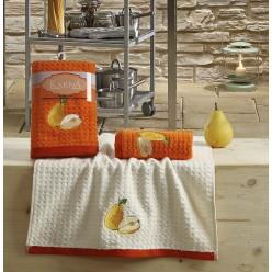 Кухонные полотенца LEMON Оранжевый 2 шт.