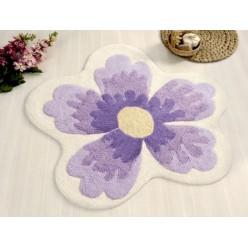 Коврик для ванной LAVIN Lila фиолетовый