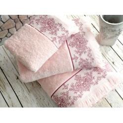 Полотенце банное Pandora Pembe розовое