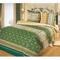 Комплект постельного белья Аристократ Бязь зеленый