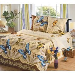 Комплект постельного белья Эйфория Бабочки Бязь