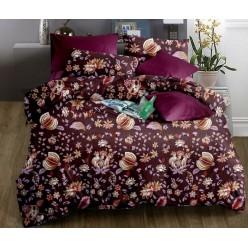 Комплект постельного белья софткоттон фиолетовый