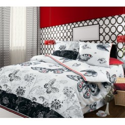 Комплект постельного белья Бабочки Бязь