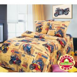 Детское постельное белье для мальчиков гонщики