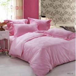 Постельное белье сатин-жаккард нежно розовое