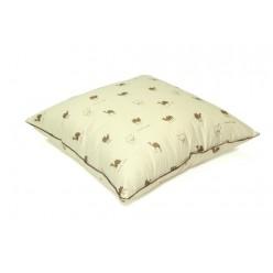 Подушка из верблюжьей шерсти тик